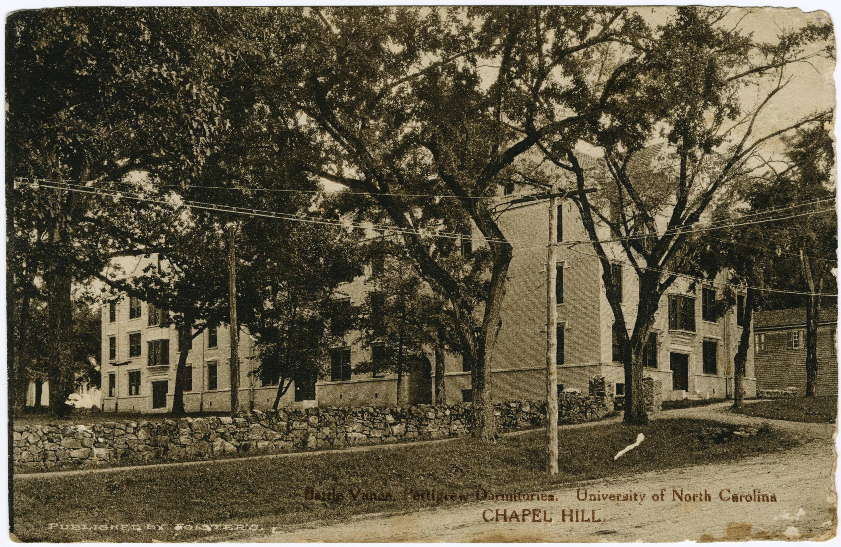 Historical Photo of Pettigrew Hall