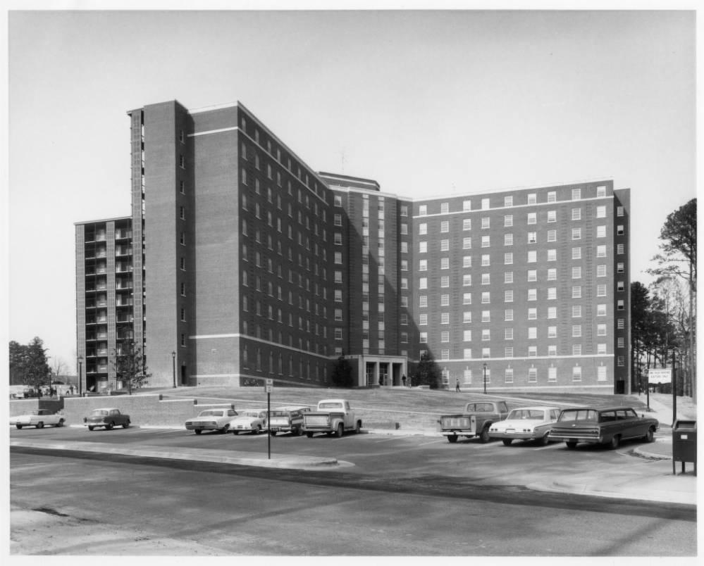 Historical Photo of Morrison Residence Hall
