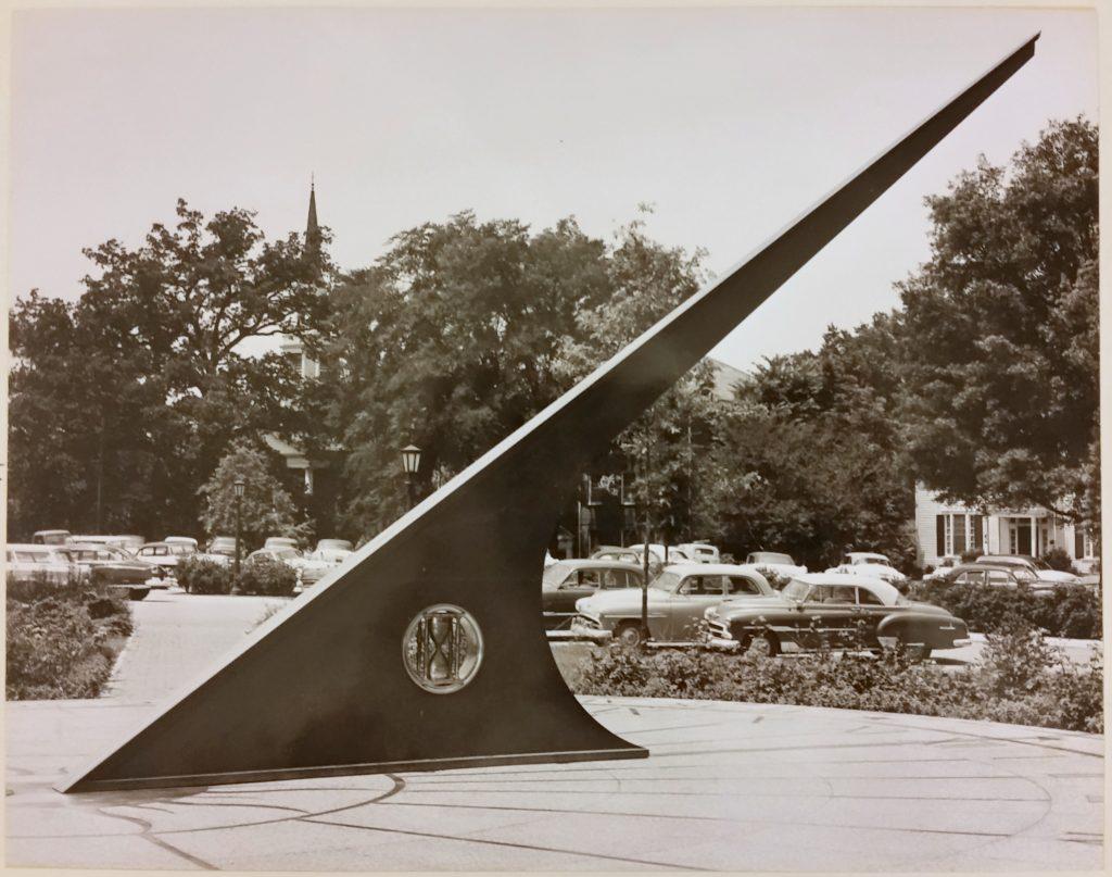 Morehead Planetarium Sundial