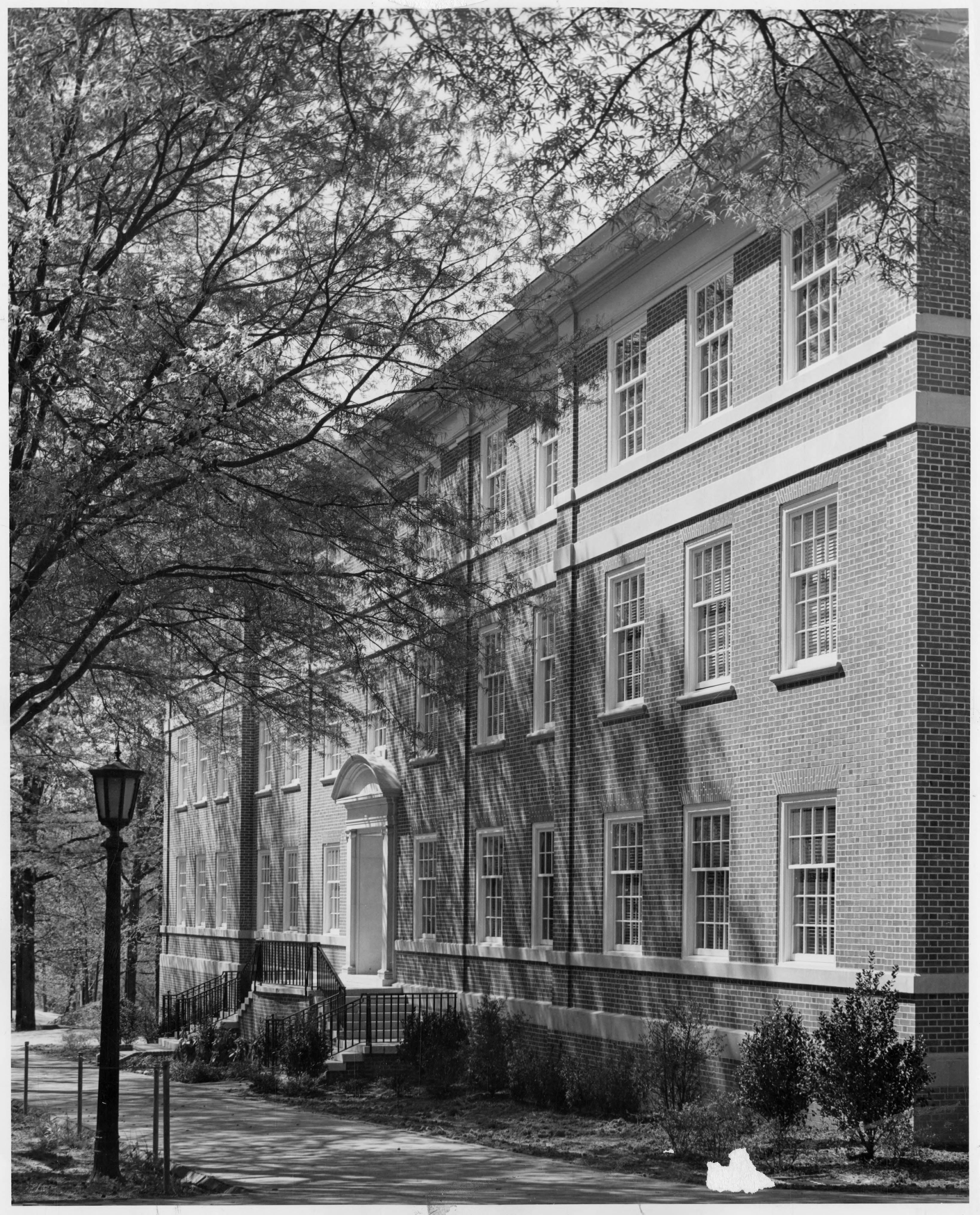 Historical Photo of Dey Hall