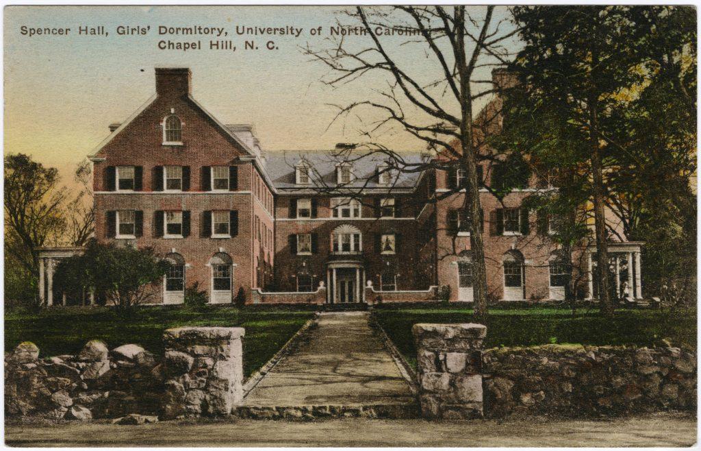 Spencer_Hall_Girls_Dormitory_University_of_North_Carolina_Chapel_Hill_NC