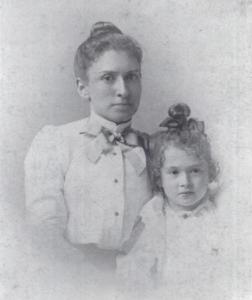 June and Cornelia Love in 1899.