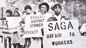 UNC Food Workers Striking