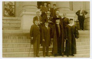 Josephus Daniels, Governor Locke Craig, Edward Kidder Graham, and others at the University of North Carolina