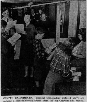 "Phyllis Yates, ""Radio Studio to Follow Columbia University Model,"" Daily Tar Heel (Chapel Hill, NC), Aug. 4, 1942, accessed March 26, 2017, //universityofnorthcarolinaatchapelhill.newspapers.com/image/67904007/."