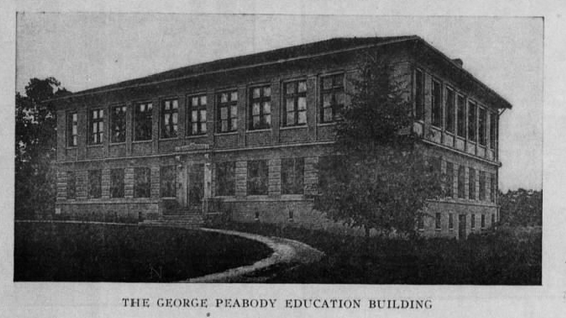 Peabody Hall, 1919. Courtesy of The Daily Tar Heel, June 14, 1919.