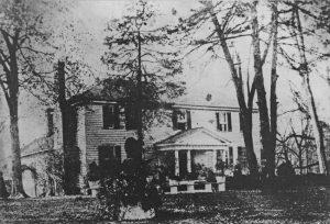Willie Person Mangum's plantation house, Walnut Hill.