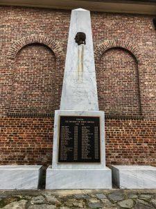 Memorial to the Founding Trustees, 2017, photo by Terri Buckner